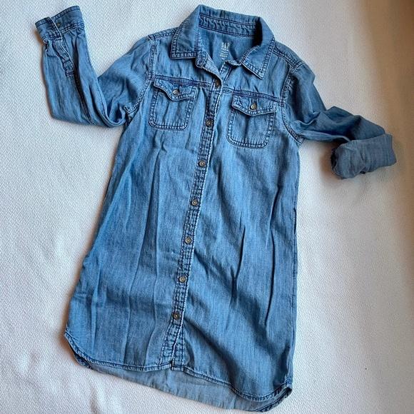 Gap Girls Denim Jean Dress, Size Small (5-6)